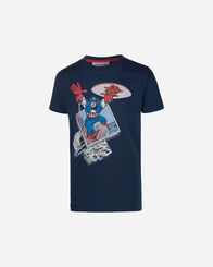 T-SHIRT bambino DISNEY CAPTAIN AMERICA MARVEL COMICS JR
