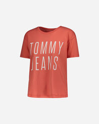 T-SHIRT donna TOMMY HILFIGER CROPPED LOGO W