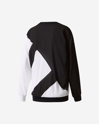Felpa ADIDAS BLOCKED SWEATSHIRT W