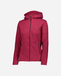 PILE E SOFTSHELL donna SALOMON BISE HOODIE W
