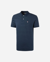 POLO uomo TOMMY HILFIGER MC FINE STRIPE M