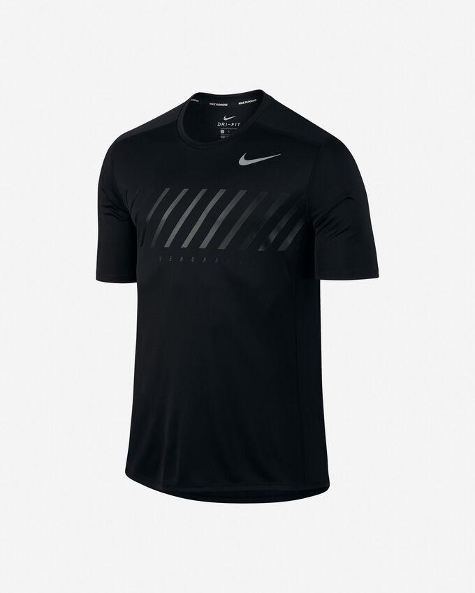 T-Shirt running NIKE DRY MILER M