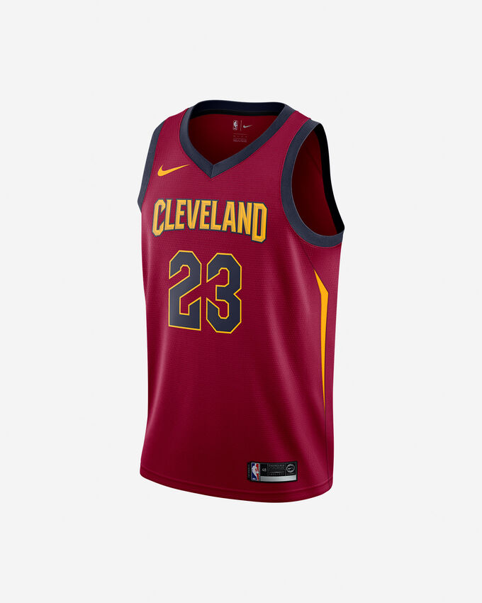 Canotta basket NIKE CLEVELAND CAVALIERS JAMES M
