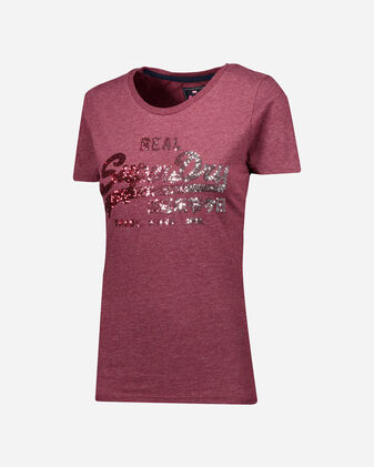 T-Shirt SUPERDRY PAILLETTES W