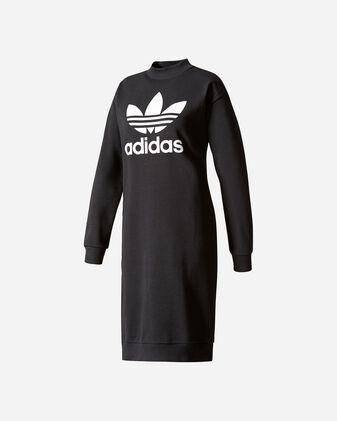 Felpa ADIDAS TREFOIL CREW DRESS W
