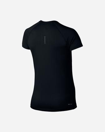 T-Shirt running NIKE DRY MILER V-NECK W