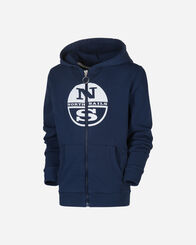 SECRET PROMO bambino NORTH SAILS HOODED FULL ZIP JR