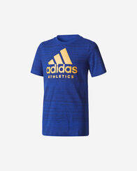 T-SHIRT bambino ADIDAS ATHLETICS LOGO JR