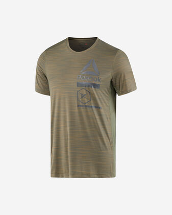 T-Shirt training REEBOK ACTIVCHILL ZONED GRAPHIC TEE M