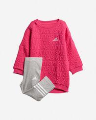 TUTE E COMPLETI bambina ADIDAS SWEAT DRESS SET JR