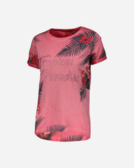 T-SHIRT donna MISTRAL TROPICAL PARADISE W