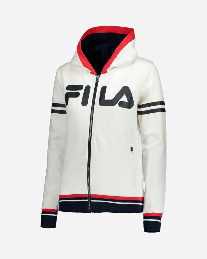 Felpa FILA ZIP STRIPES W