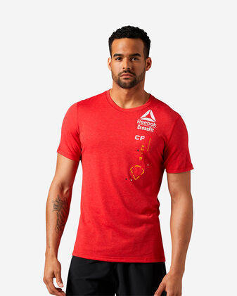 T-Shirt training REEBOK CROSSFIT POLY BLEND M