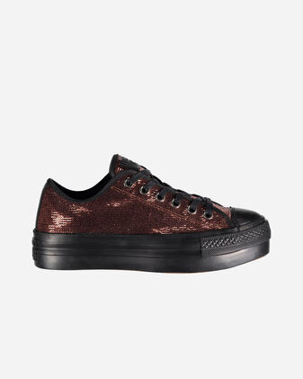 Scarpe sneakers CONVERSE ALL STAR PLATFORM PAILLETTES OX W
