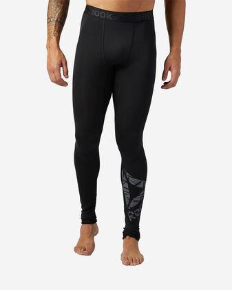 Pantalone training REEBOK WORKOUT READY COMPRESSION M