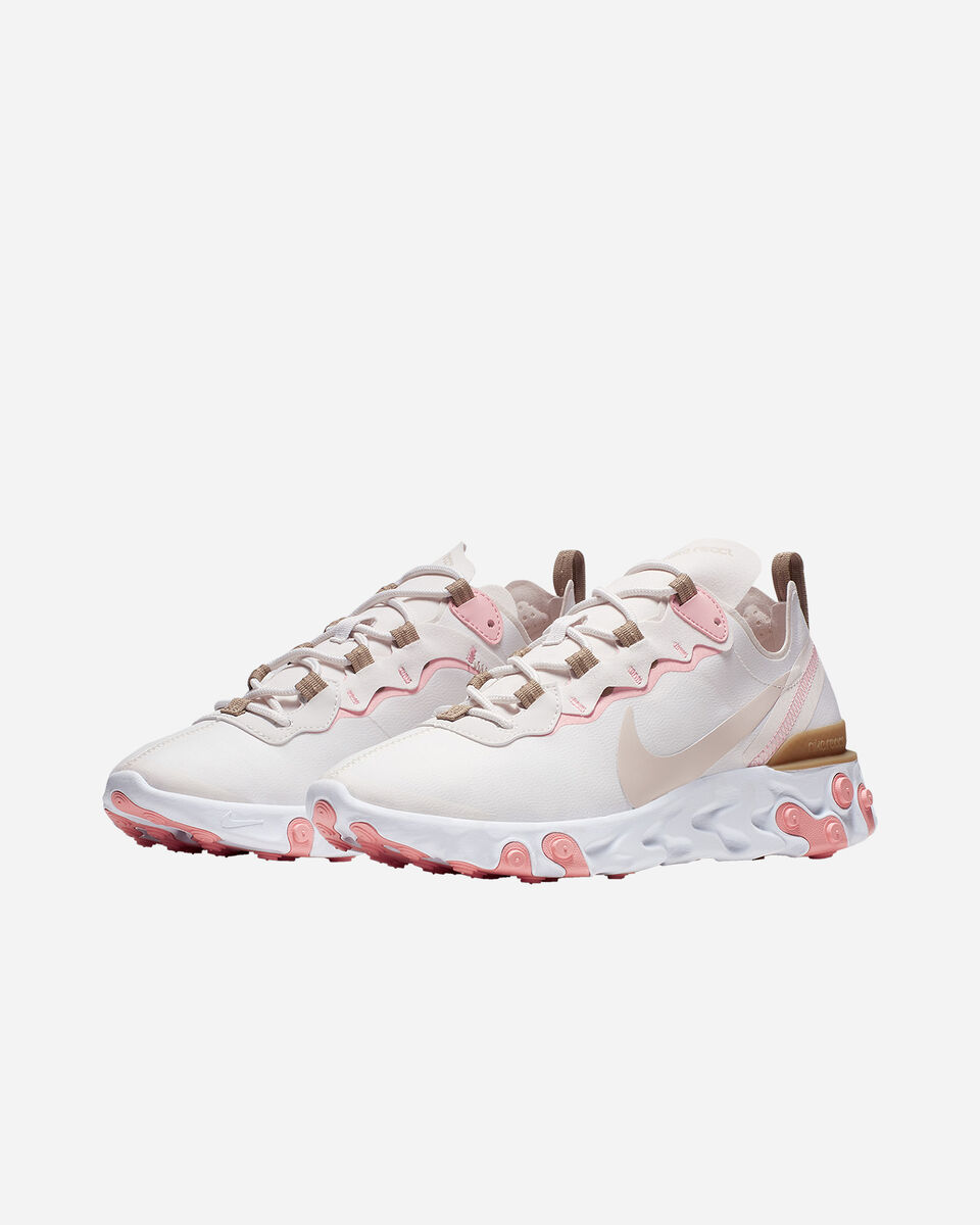 Scarpe sneakers NIKE REACT ELEMENT 55 W S5197490 scatto 1