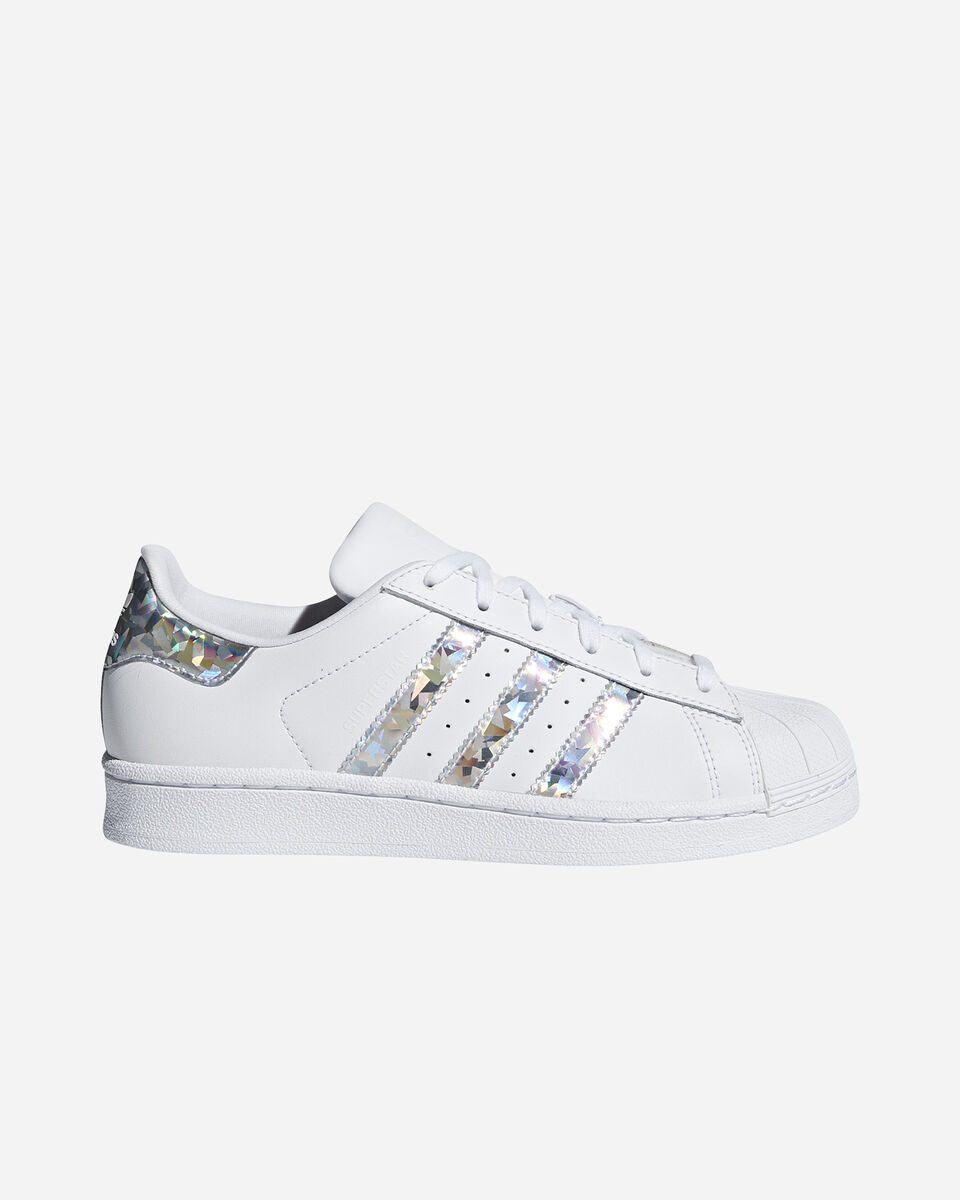Scarpe sneakers ADIDAS SUPERSTAR GS JR S2015413 scatto 0