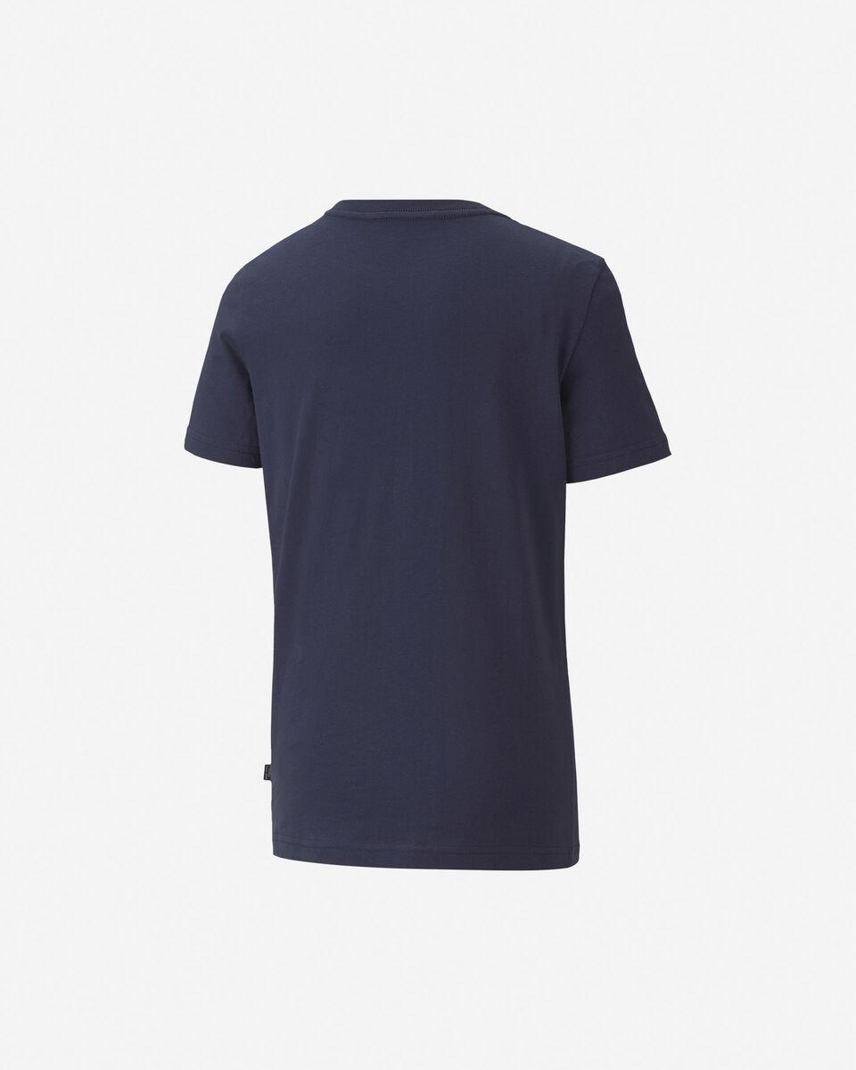 T-Shirt PUMA BIG LOGO JR S5234930 scatto 3