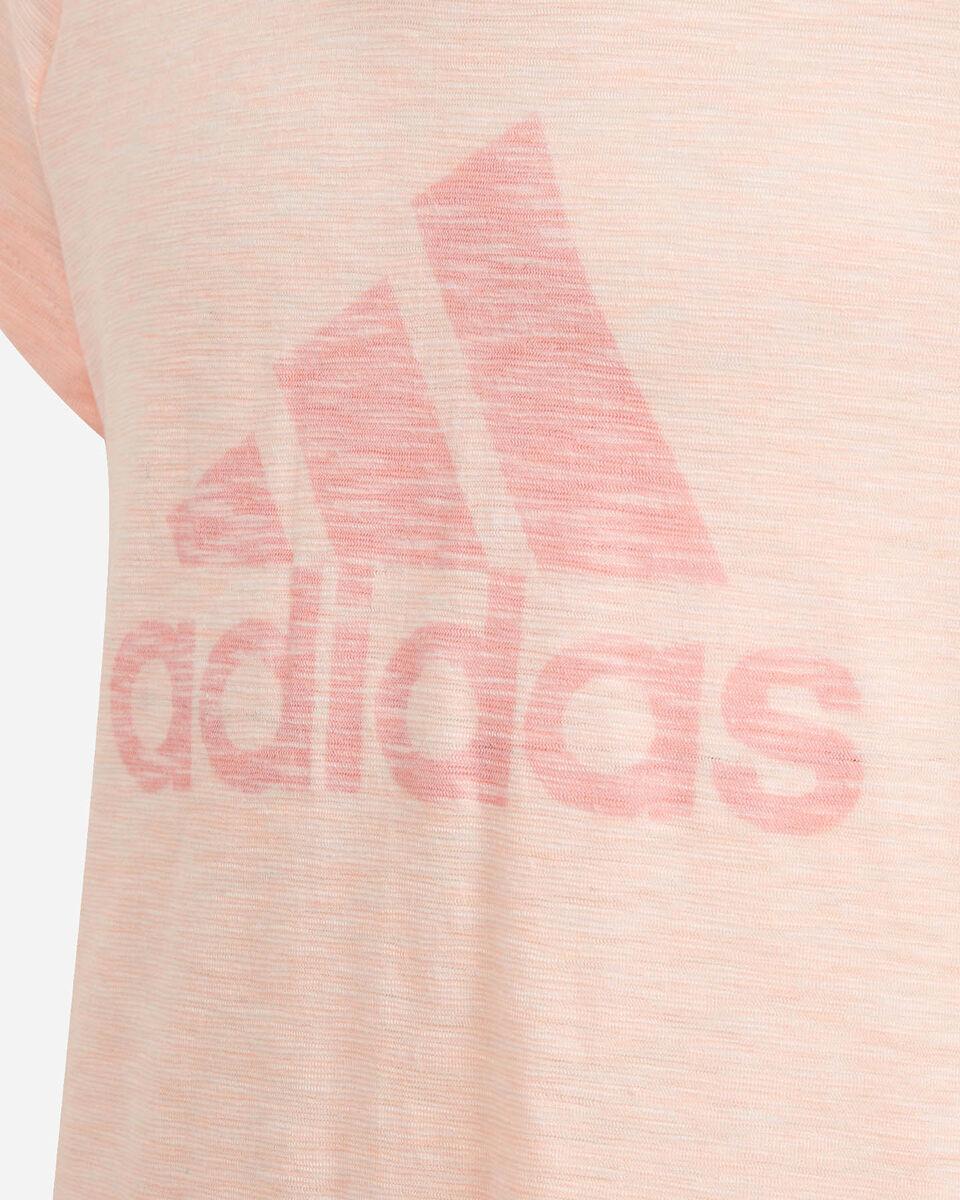 T-Shirt ADIDAS BIG LOGO JR S5216873 scatto 2