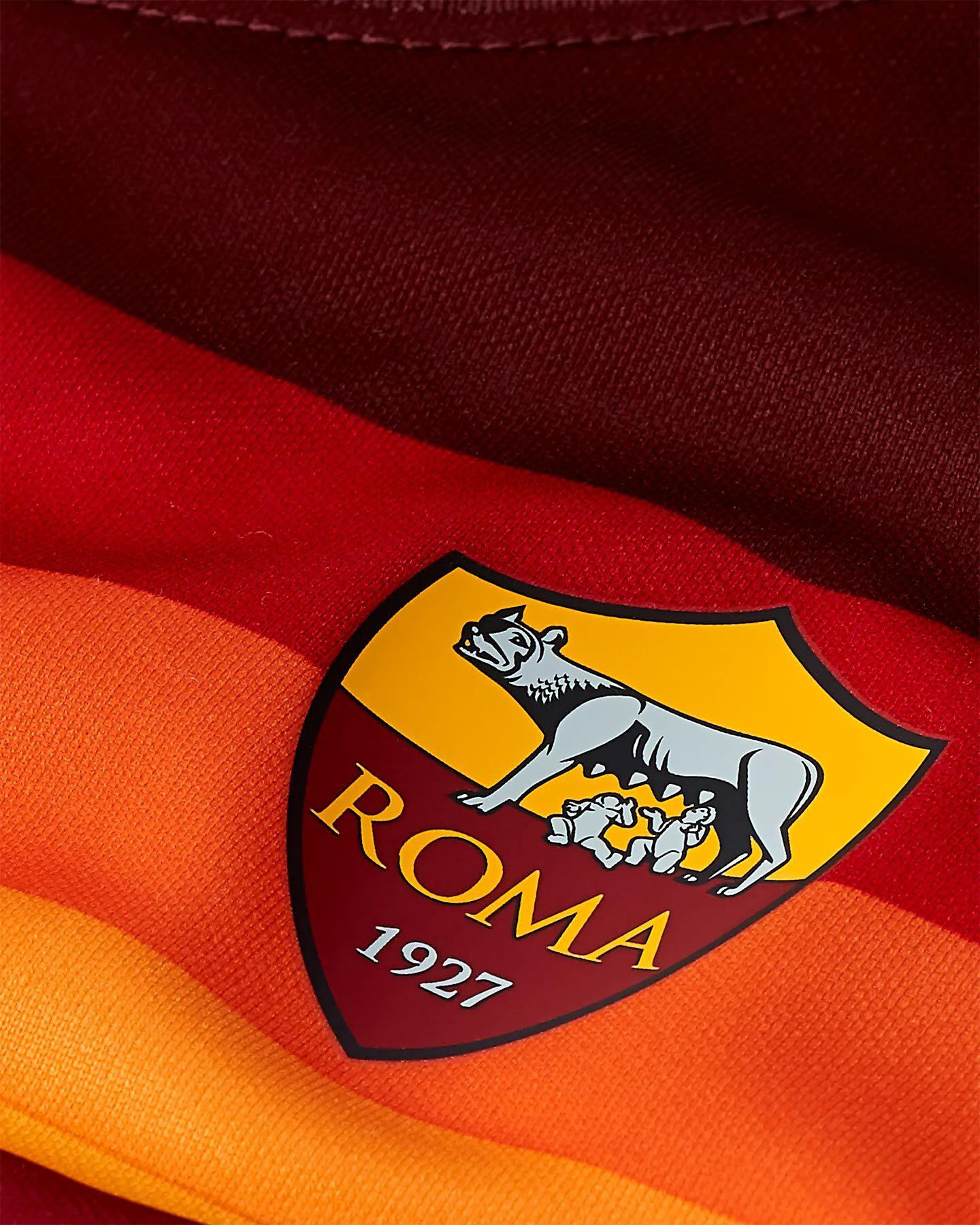 Abbigliamento calcio NIKE KIT ROMA HOME 20-21 JR S5195489 scatto 2