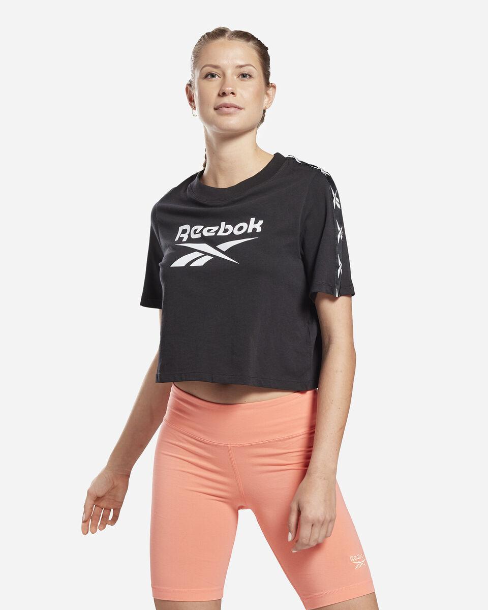 T-Shirt REEBOK TAPE LOGO W S5258650 scatto 2