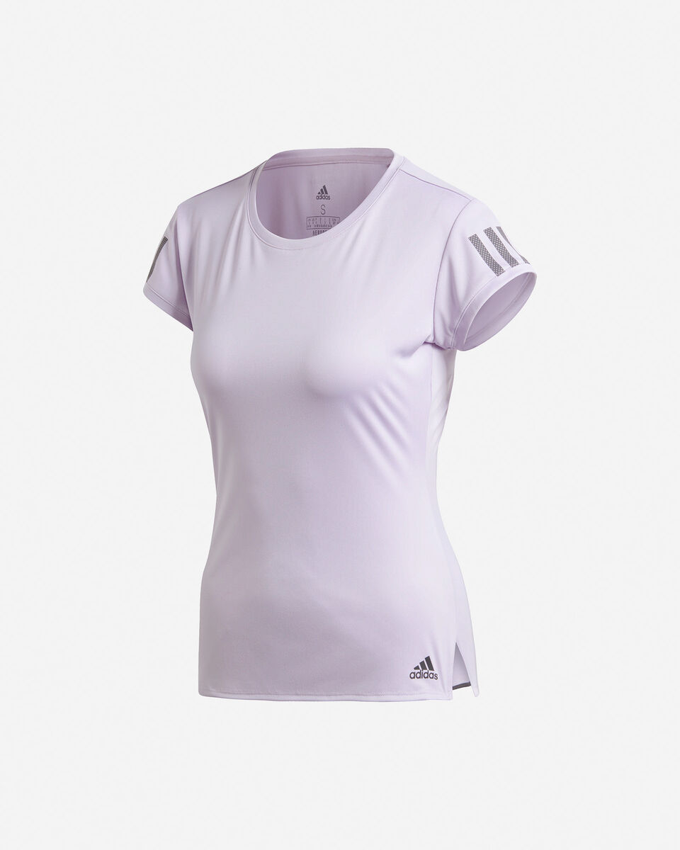 T-Shirt tennis ADIDAS 3-STRIPES CLUB W S5155173 scatto 0