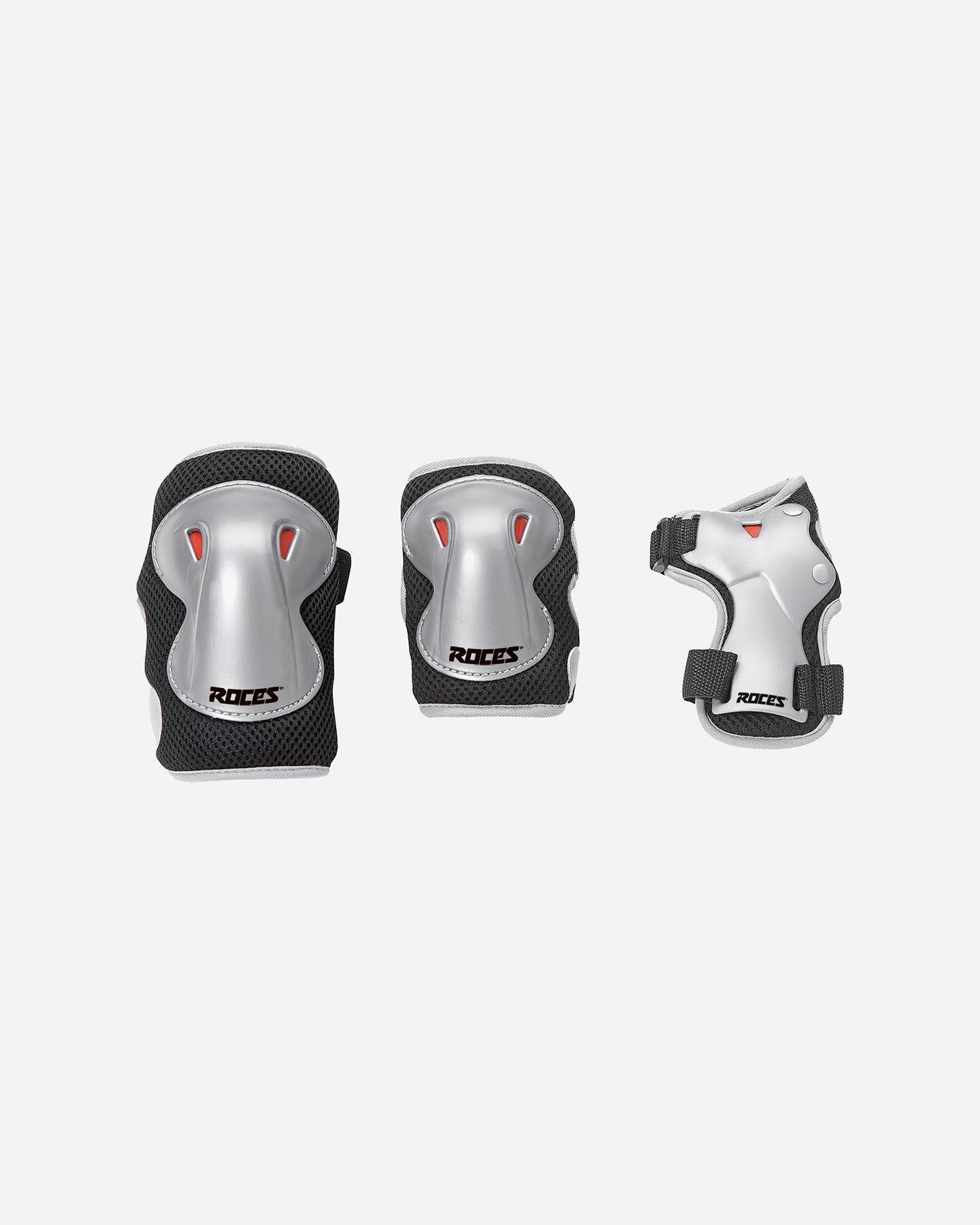 Protezione pattinaggio ROCES SUPER 3 PACK JR S1317927 scatto 0
