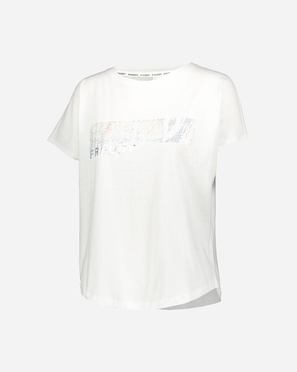 T-Shirt FREDDY STRETCH YOUR MIND W S5183390 scatto 0