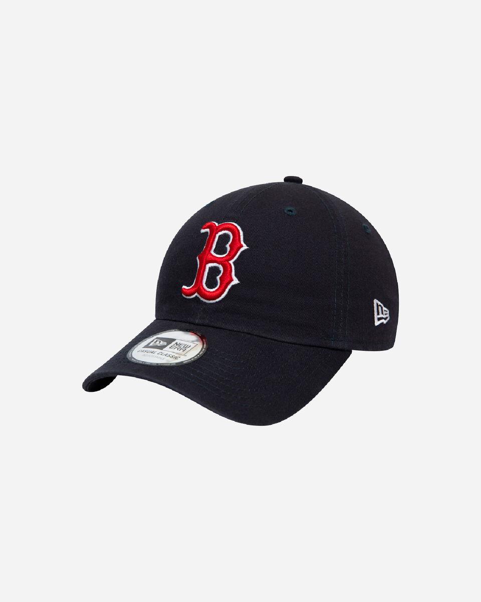 Cappellino NEW ERA CAP NE CASUAL CLASSIC BOSTON BLK S5245111 410 OSFM scatto 0