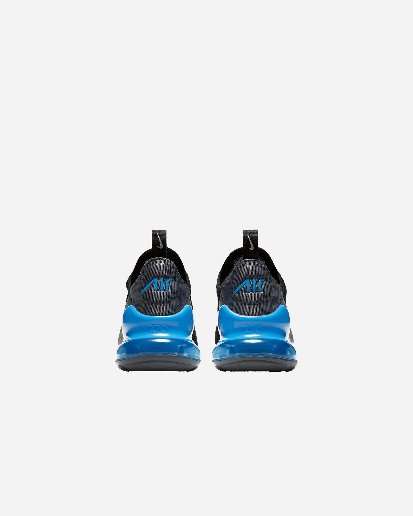 Scarpe sneakers NIKE AIR MAX 270 GS JR S5262340 scatto 4