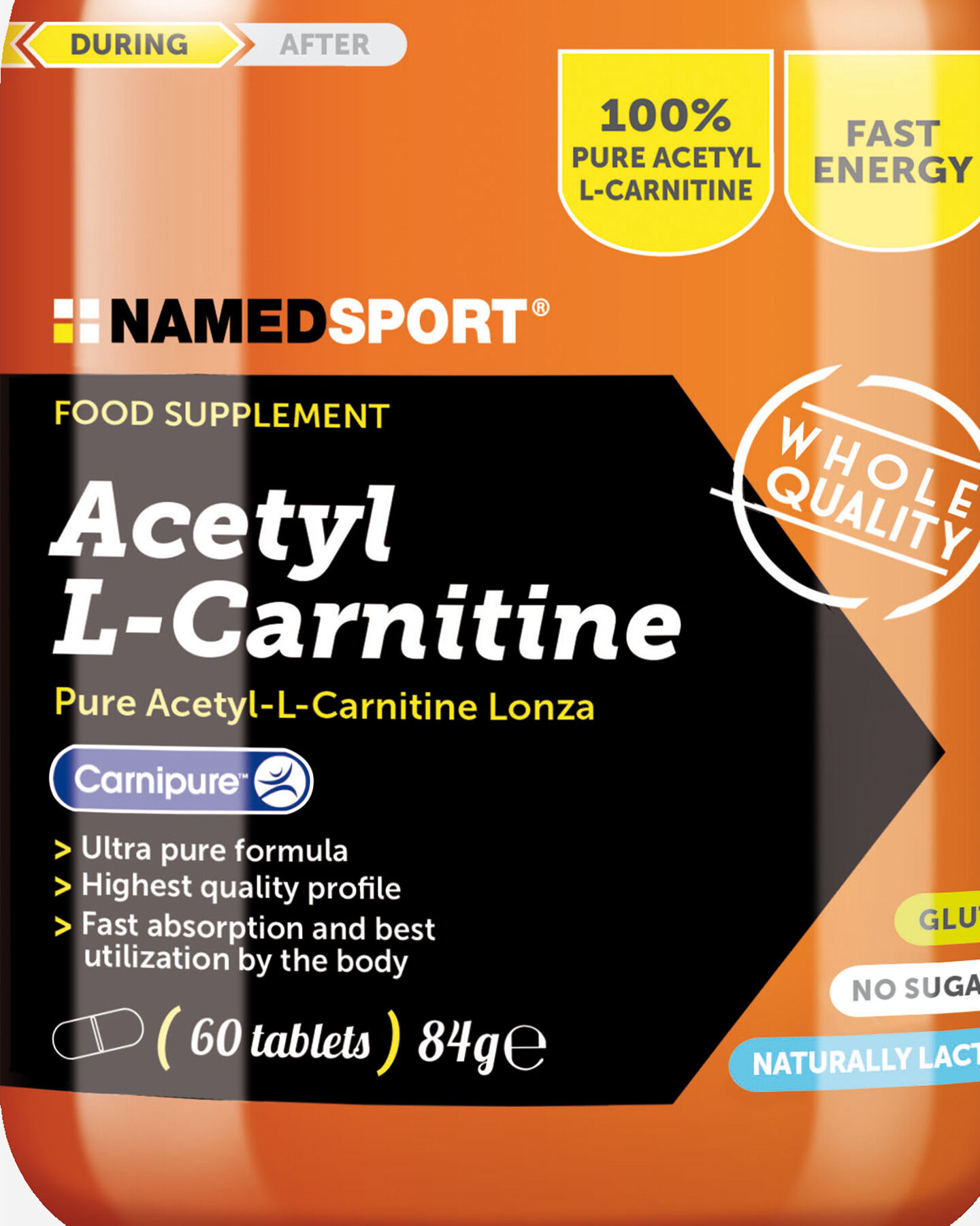 Energetico NAMED SPORT ACETIL L-CARNITINA 60 CPR S4002246 1 UNI scatto 1