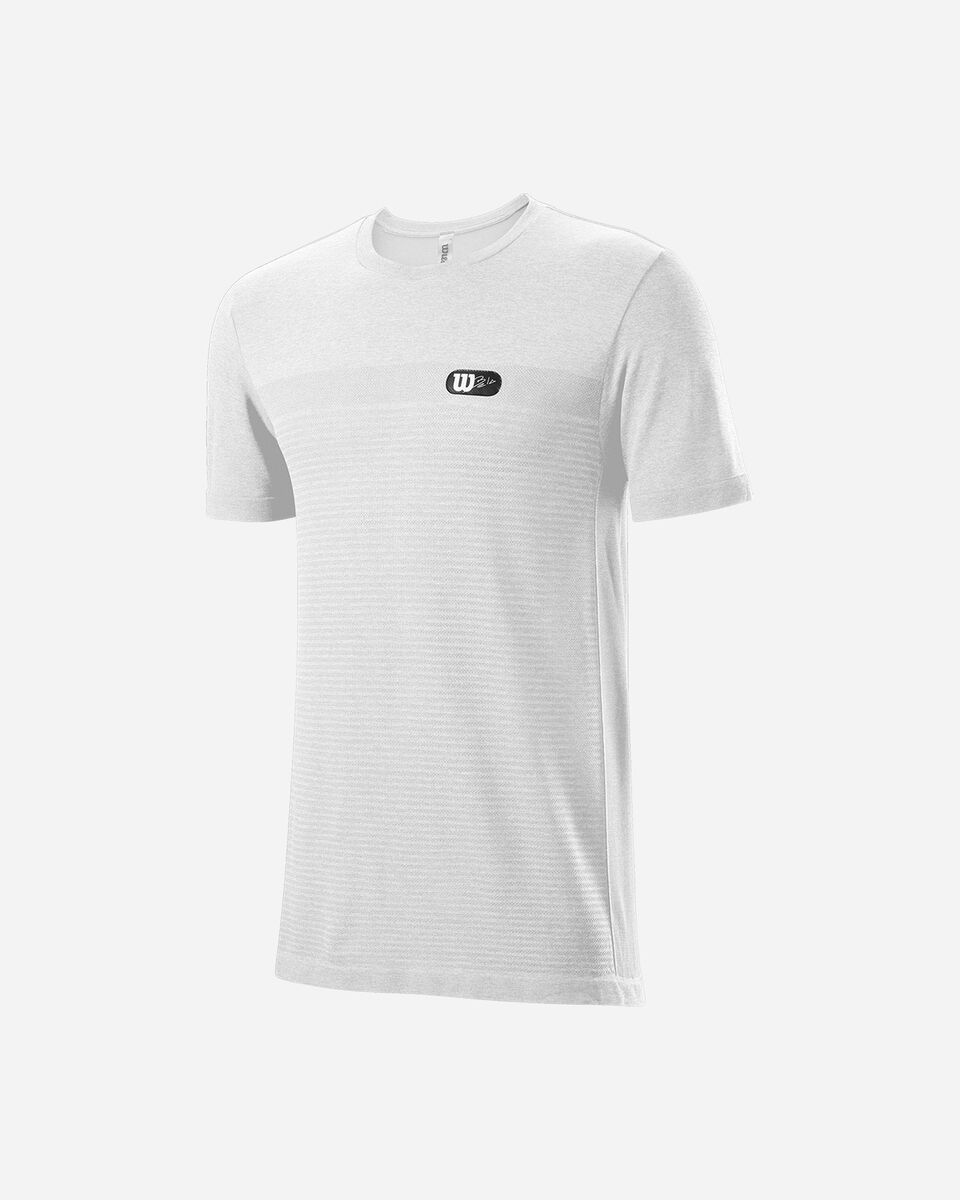 T-Shirt tennis WILSON BELA CREW M S5294965 scatto 0