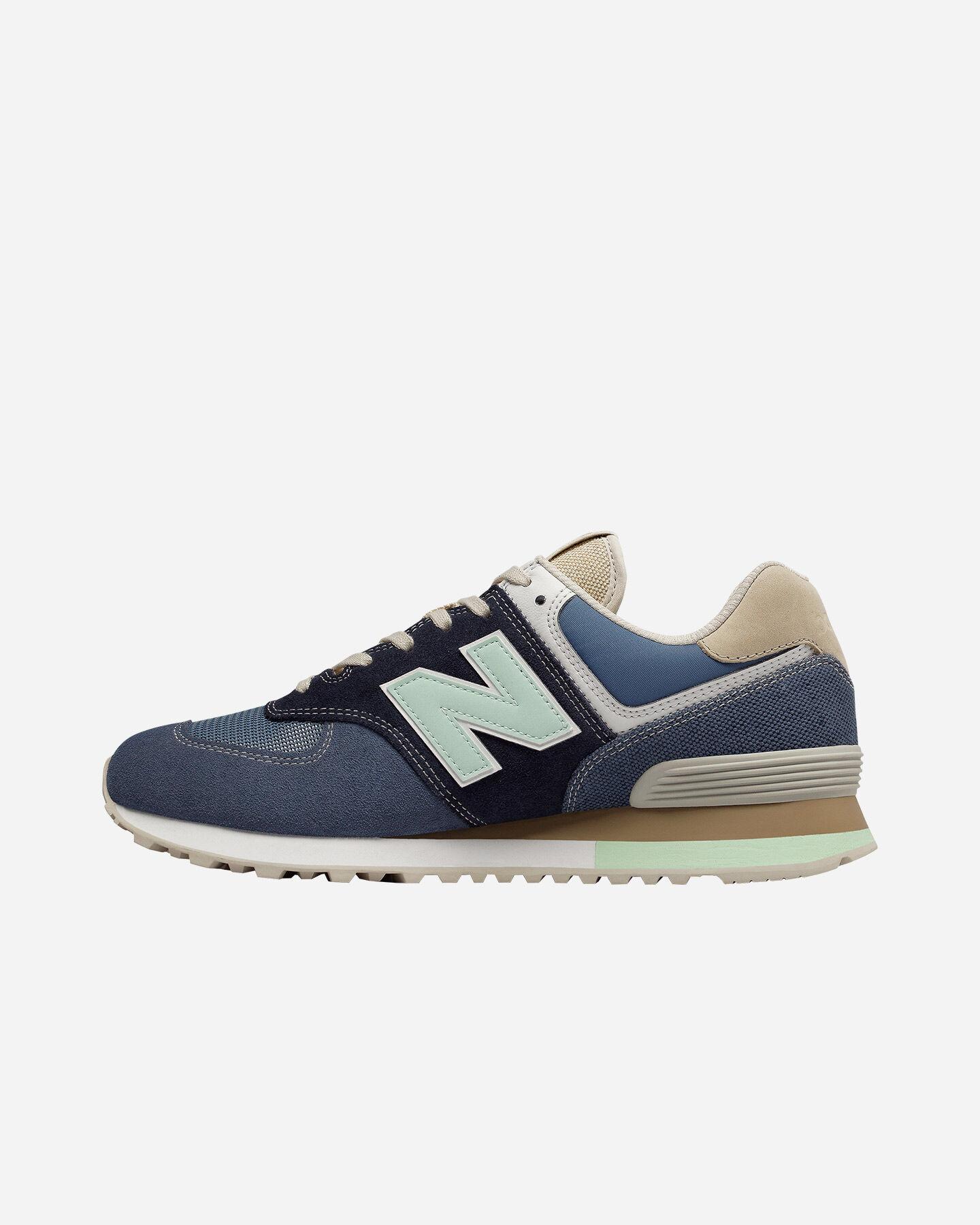 Scarpe Sneakers New Balance 574 M ML574BSL   Cisalfa Sport
