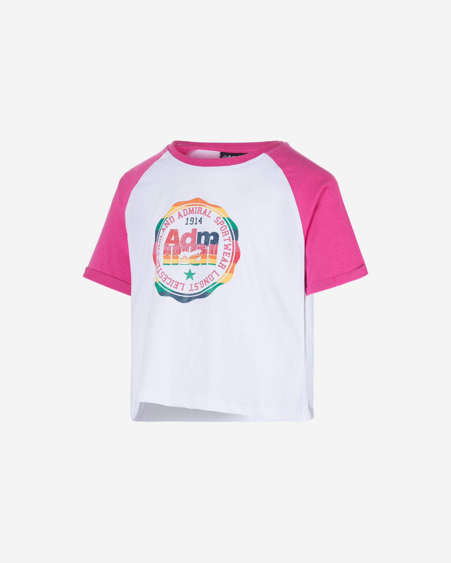 T-Shirt ADMIRAL CROP JR S4075521 scatto 0