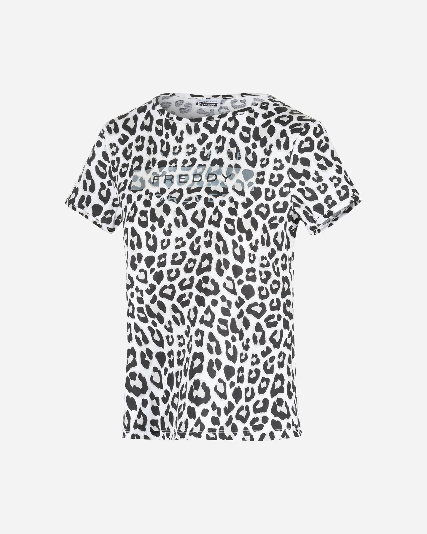 T-Shirt FREDDY ALL OVER W S5183688 scatto 0