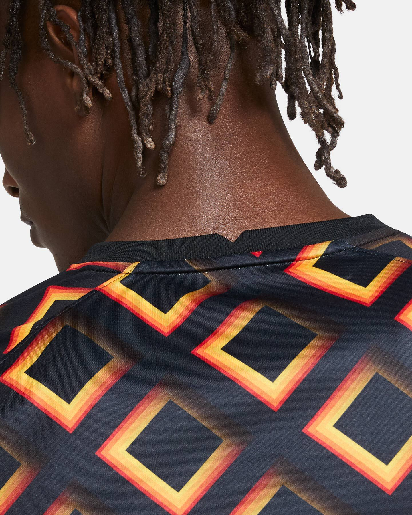 Abbigliamento calcio NIKE AS ROMA PREMATCH 20-21 M S5195542 scatto 5