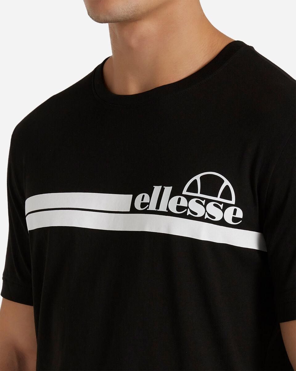 T-Shirt ELLESSE MC STRIPES M S4081221|050|XL scatto 4
