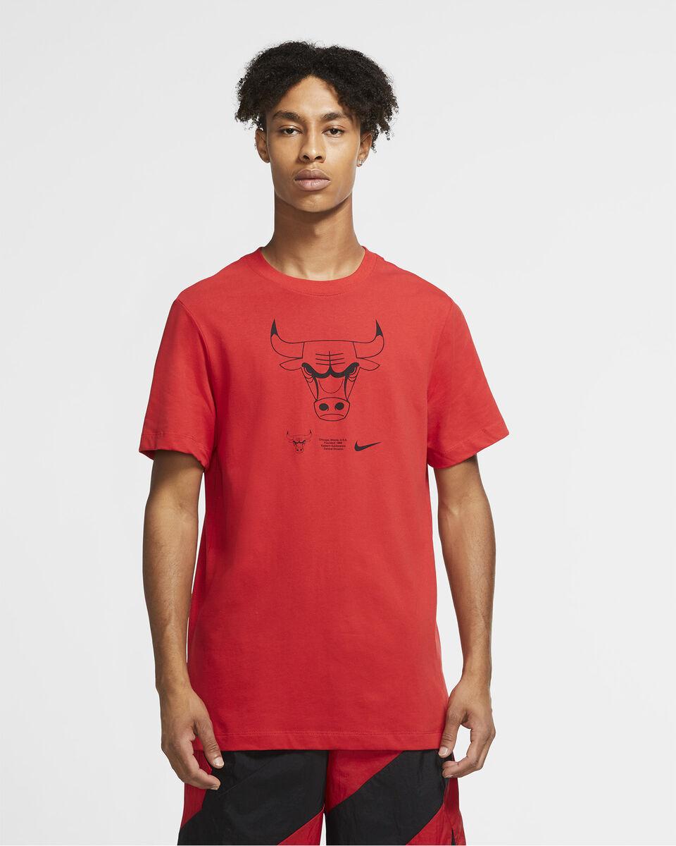 Abbigliamento basket NIKE CHICAGO BULLS LOGO  M S5225057 scatto 2