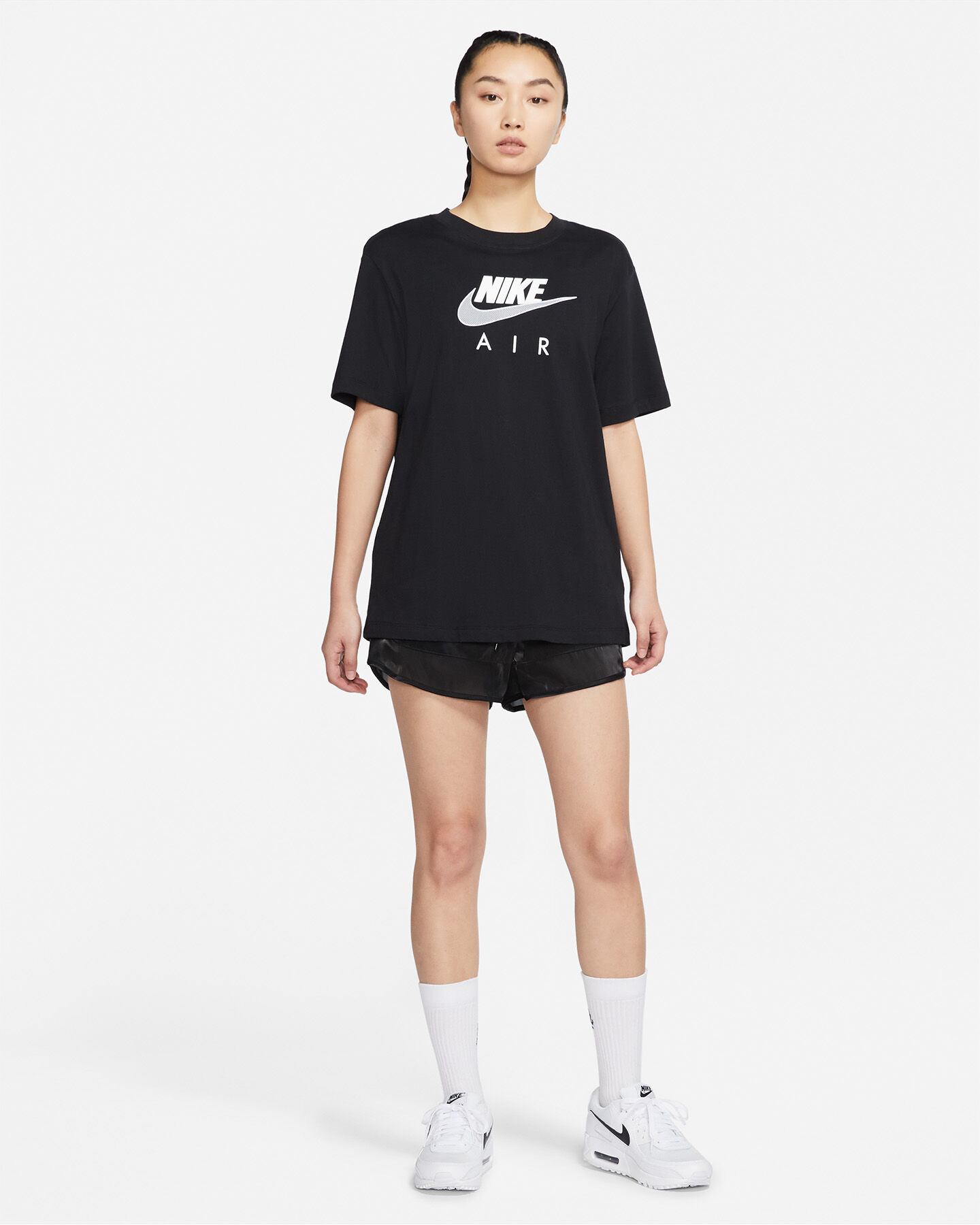 T-Shirt NIKE LONG AIR W S5267655 scatto 3
