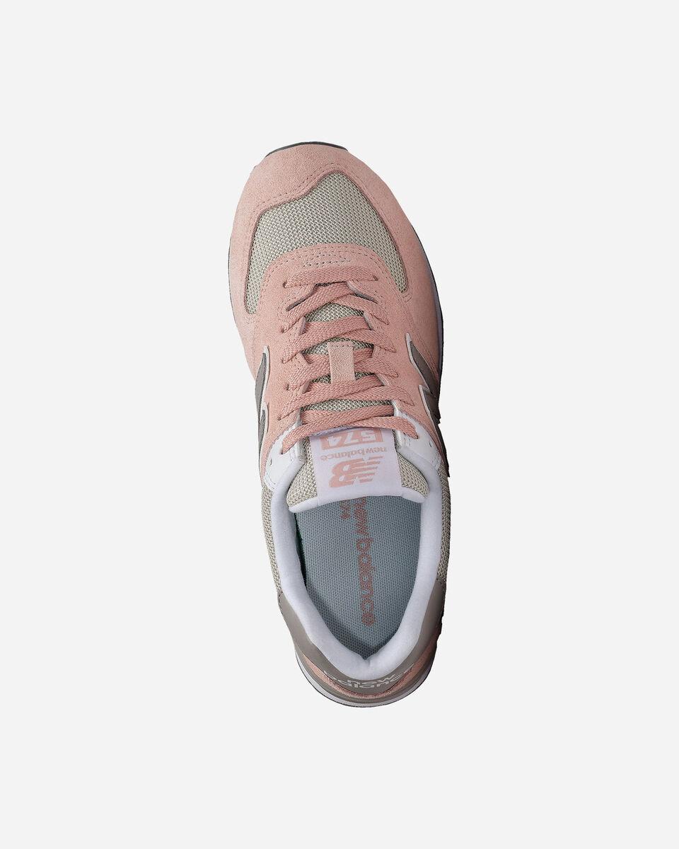 Scarpe sneakers NEW BALANCE 574 W S5122644 scatto 2