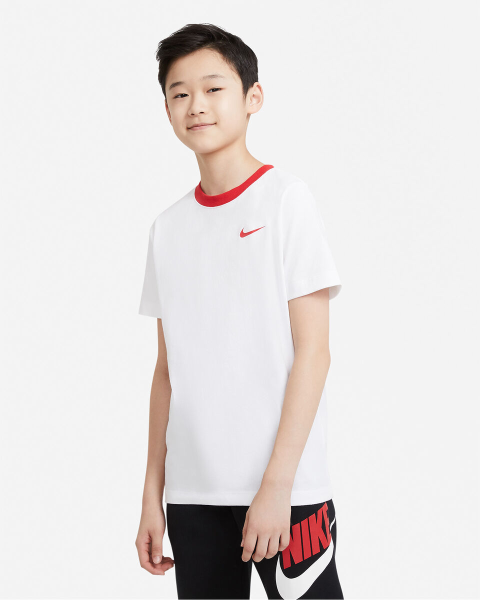 T-Shirt NIKE BIG SWOOSH BACK JR S5270253 scatto 0