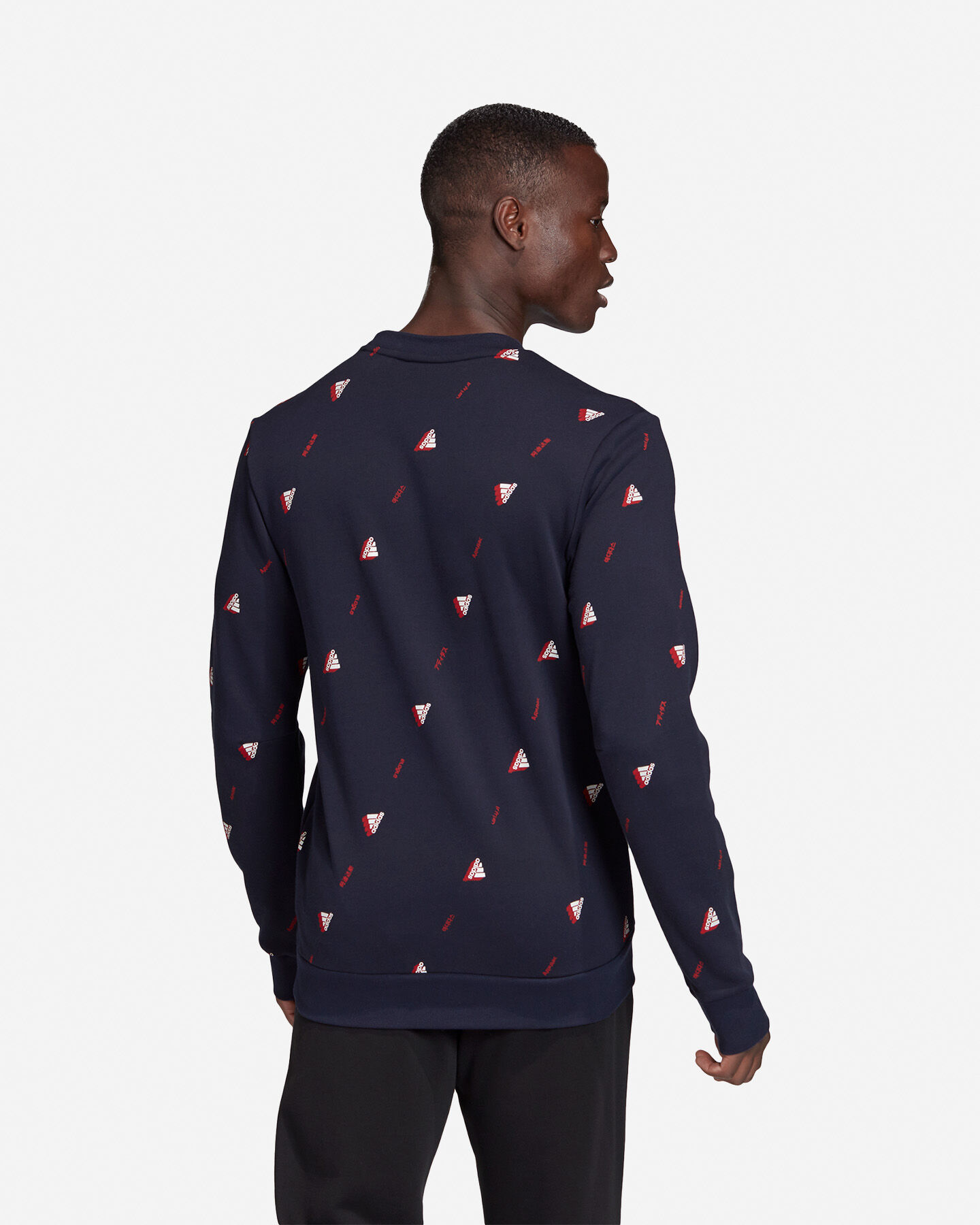 Felpa ADIDAS MUST HAVES GRAPHIC CREW M S5153856 scatto 4