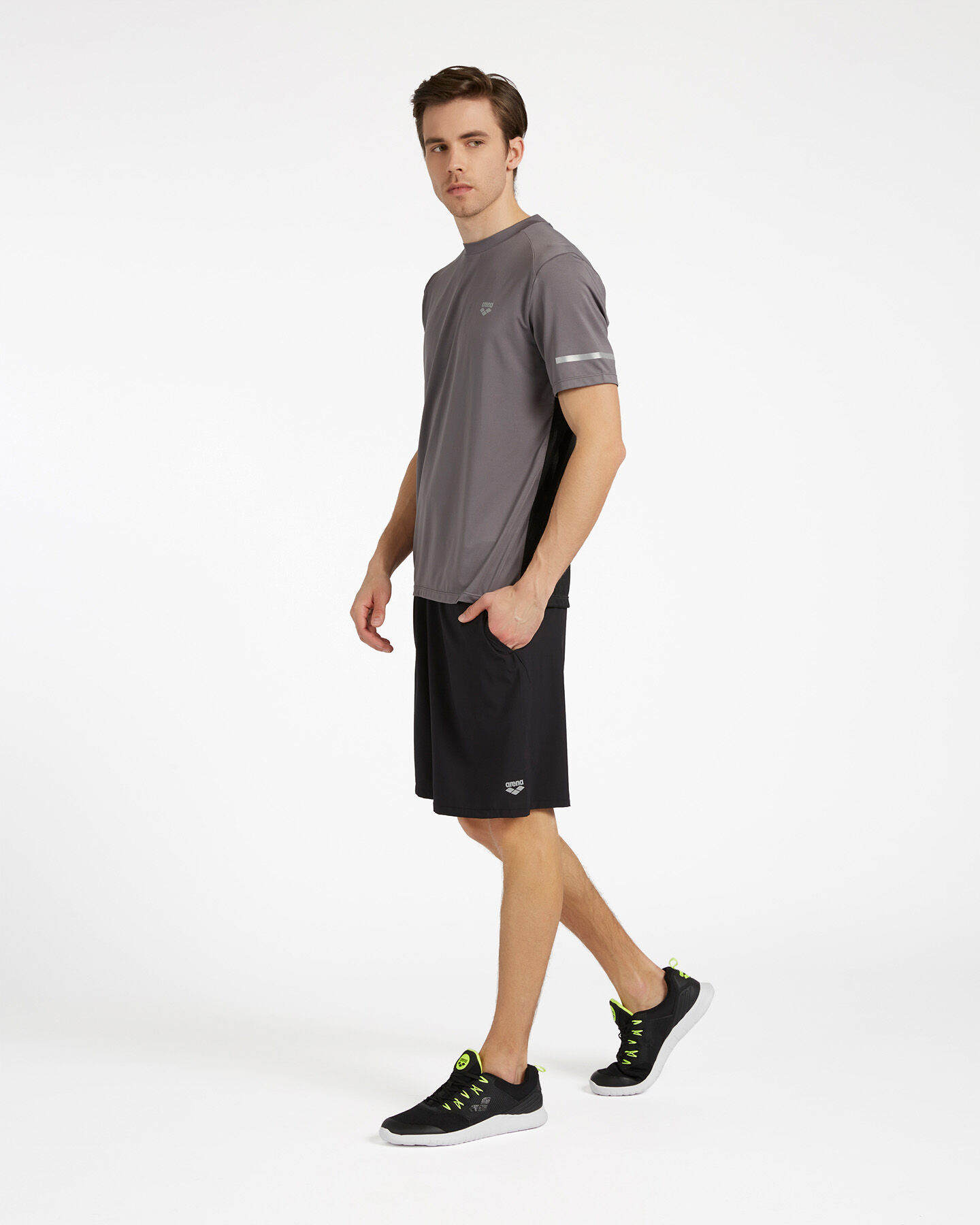 T-Shirt training ARENA ROYAL BACK MESH M S4088059 scatto 3