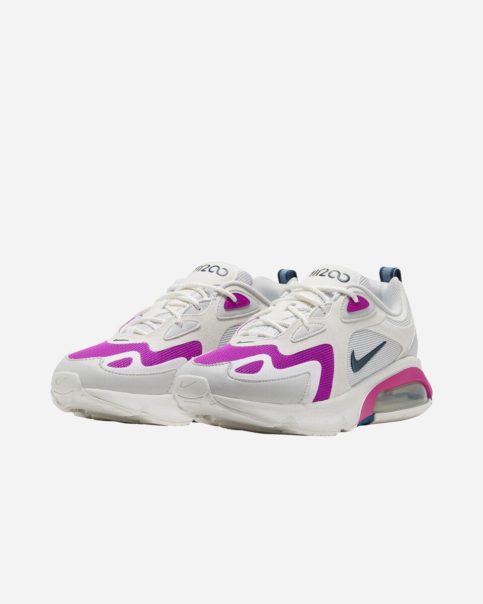 Scarpe sneakers NIKE AIR MAX 200 W S5162238 scatto 1