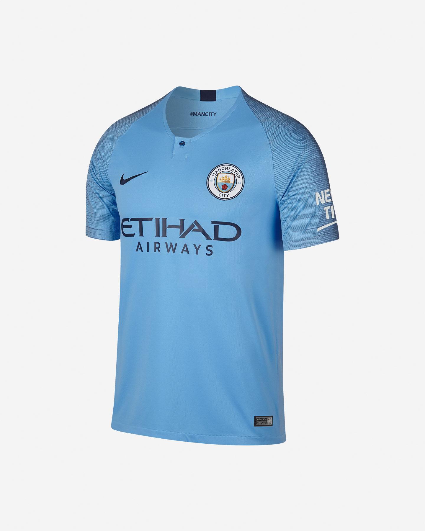 Maglia Calcio Nike Manchester City Home 18-19 M 894431-489 ...