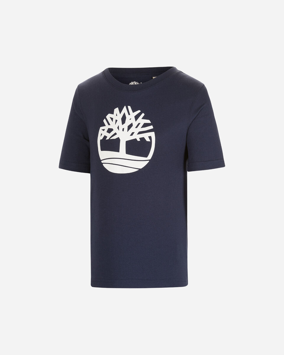 T-Shirt TIMBERLAND PLOGO TREE JR S4088882 scatto 0