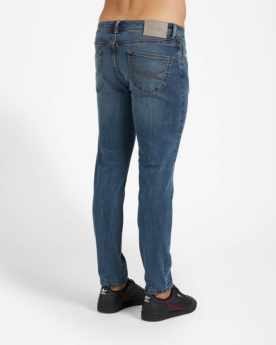 Jeans COTTON BELT 5TS SLIM M S4076651 scatto 1