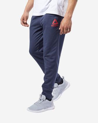 Pantalone training REEBOK TRAINING ESSENTIALS LOGO M