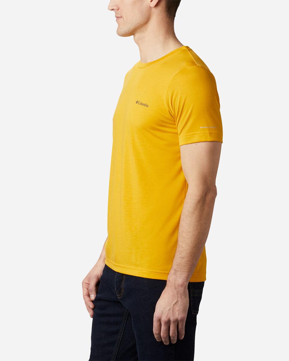 T-Shirt COLUMBIA MAXTRAIL LOGO M S5174871 scatto 2