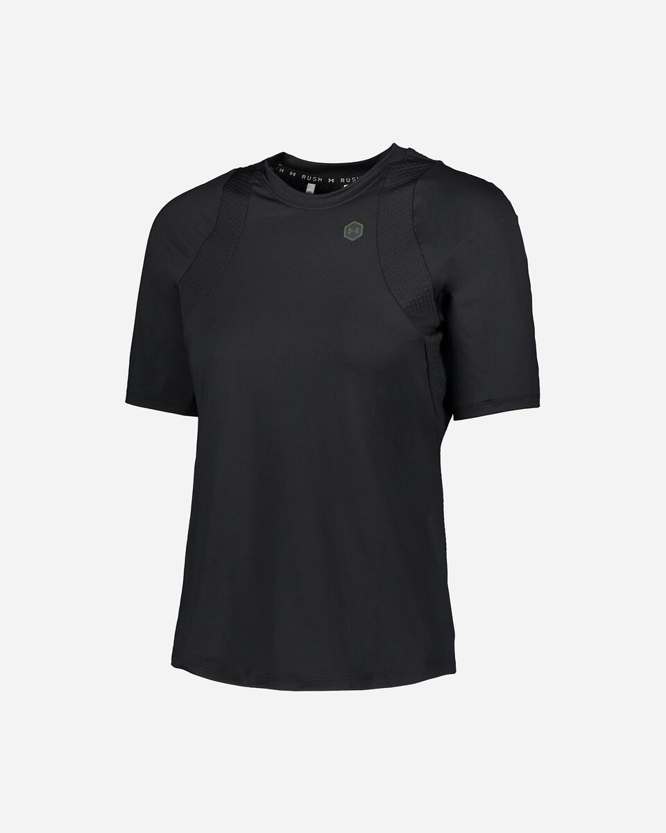 T-Shirt training UNDER ARMOUR POLY RUSH W S5169518 scatto 0